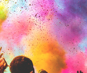 colors, summer, and party image
