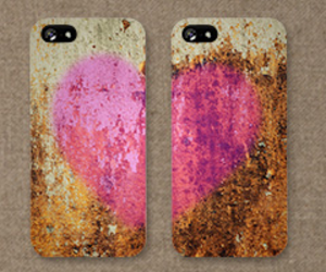 cases, heart, and love image
