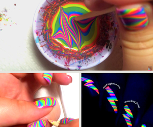diy, do it yourself, and nail art image