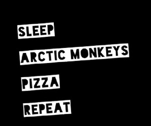 arctic monkeys, pizza, and love image