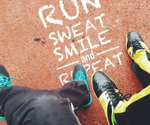 body, fittness, and run image