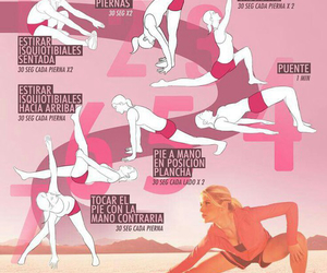 fitness, elasticidad, and exercise image