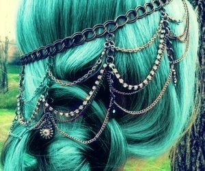 cool, jewellery, and green image