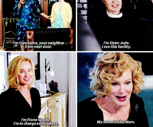coven, jessica lange, and american horror story image