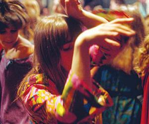 dance, colors, and hippie image