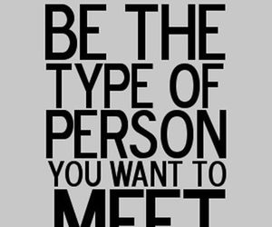 quotes, person, and meet image
