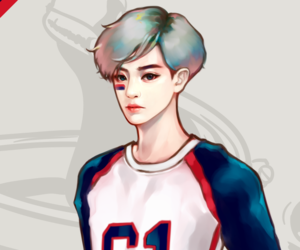 exo, fanart, and chanyeol image