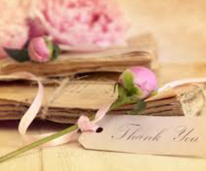 flowers, thank you, and pink image