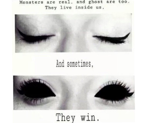 monster, ghost, and eyes image