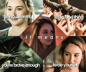 divergent, book, and tris prior image