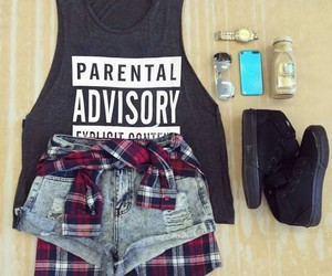 black, jean, and outfit image