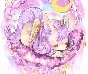 kawaii, unicorn, and cute image