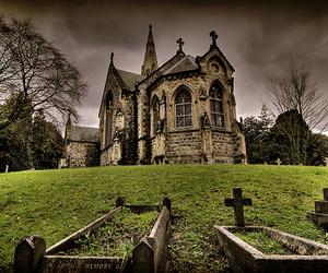 chapel, church, and cross image