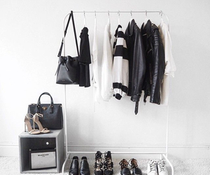 bag, clothes, and room image