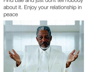 Relationship, peace, and true image