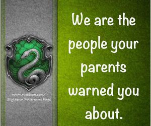 slytherin, slytherin pride, and slytherin quotes image