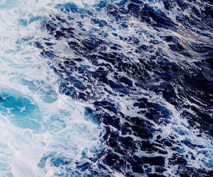 ocean, sea, and background image