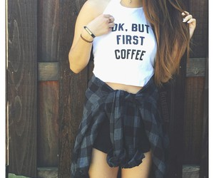 girl, girly, and crop top image