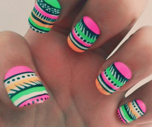 amazing, colourfull, and nails image