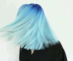 blue, hair, and mydream image