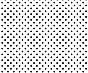 black and white, polka dot, and wallpaper image