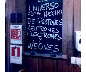 funny, electrones, and protones image