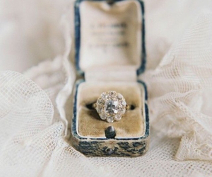 ring, engagement, and vintage image