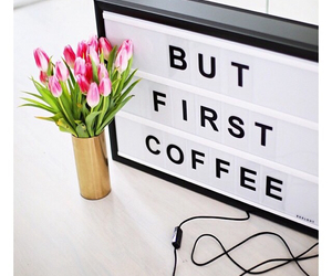coffee, pink, and lightbox image