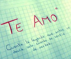 te amo and I Love You image