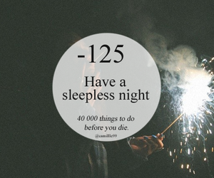 night, sleepless, and things to do image