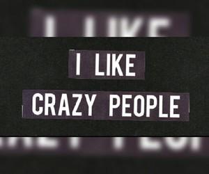 black, crazy, and crazyness image