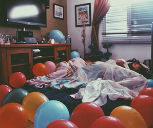 balloons, best friends, and girlfriend image