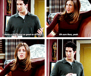 quote, ross geller, and f r i e n d s image