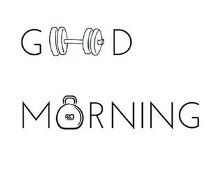 fitness and good morning image