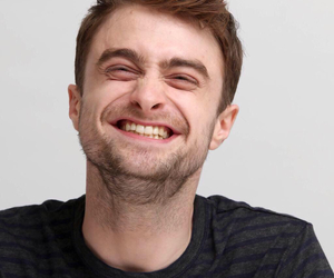 daniel radcliffe, harry potter, and smile image