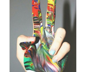 colour, fun, and hand image