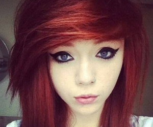 red hair, scene, and hair image