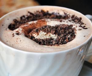chocolate, coffee, and drink image