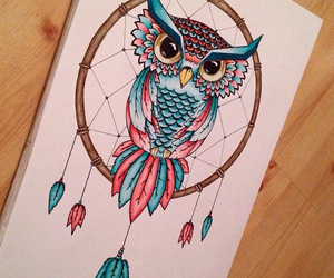 amazing, drawing, and dream catcher image