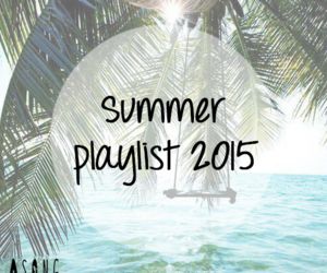 music, playlist, and summer image