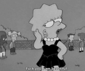 fuck you, quote, and the simpsons image