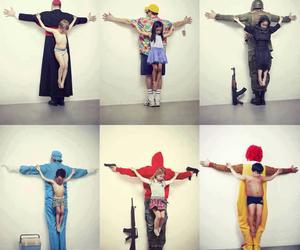 cross, god, and McDonald's image