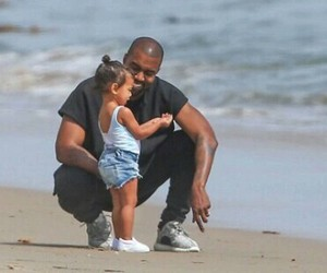 north west, kanye west, and baby image