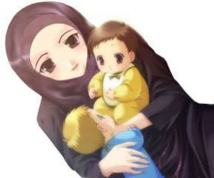 mother, muslim, and love image
