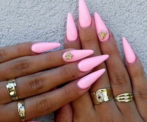 baby pink, beauty, and summer image