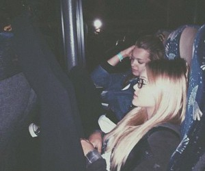 adventures, blonde, and bus image