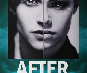 after, indiana evans, and daniel sharman image