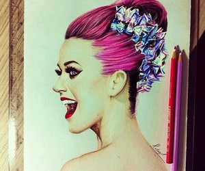 art, katy perry, and draw image