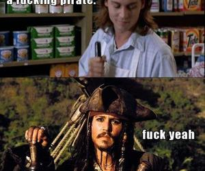 pirate, johnny depp, and funny image