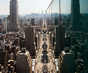 city, new york, and nyc image